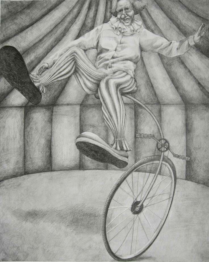 The annual Darien High School Art Show will be taking place on Monday, May 18th from 5-7pm.   Works from current art students will be displayed at Darien High School starting from the Main Office and will continue along the G and F wings.  The public is welcome to attend and view some exceptional work by the senior artists including this graphite pencil drawing 20 x 16âÄù by Danielle Williams, who will be attending RISD in the fall. Photo: Contributed Photo / Darien News
