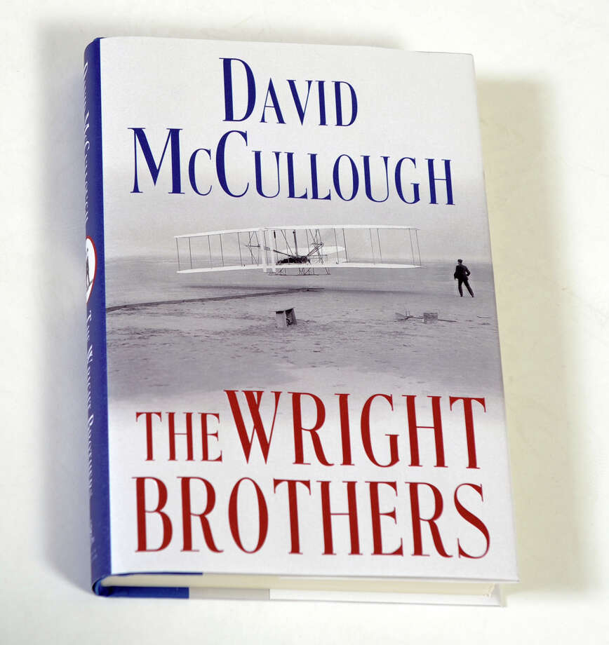 """Historian David McCullough's new book, """"The Wright Brothers,"""" dismisses Bridgeport's Gustave Whitehead with one paragraph saying there is no evidence he was first in powered flight. Photo: Autumn Driscoll / Connecticut Post"""
