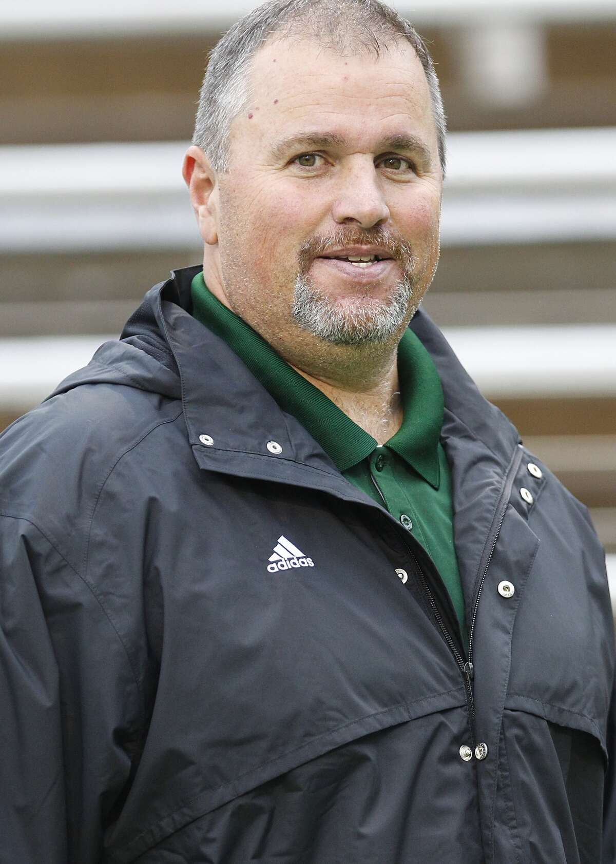 Kingwood Park head football coach Jim Holley.