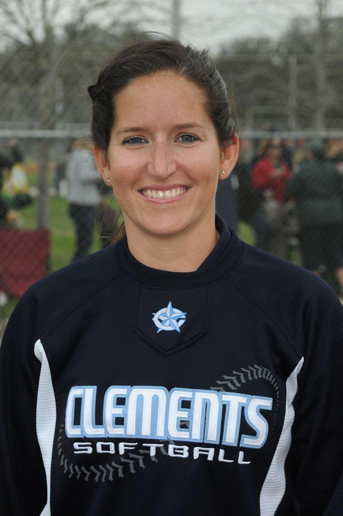 Clements Head Softball Coach Laine Skelton