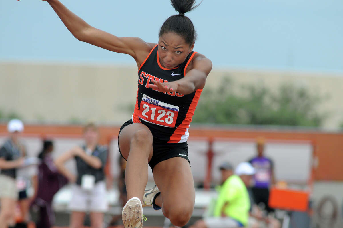 Texas City senior Asa Garcia will attempt to defend her state titles in the long jump and triple jump at the UIL Class 5A Track and Field Championships.