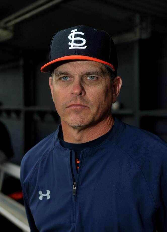 Seven Lakes Head Baseball Coach Chad Payne Photo: Jerry Baker, Freelance