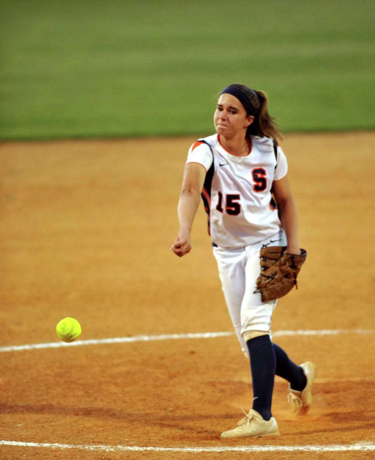 Seven Lakes pitcher Brooke Tomalty has been devastating from the circle for the Spartans.