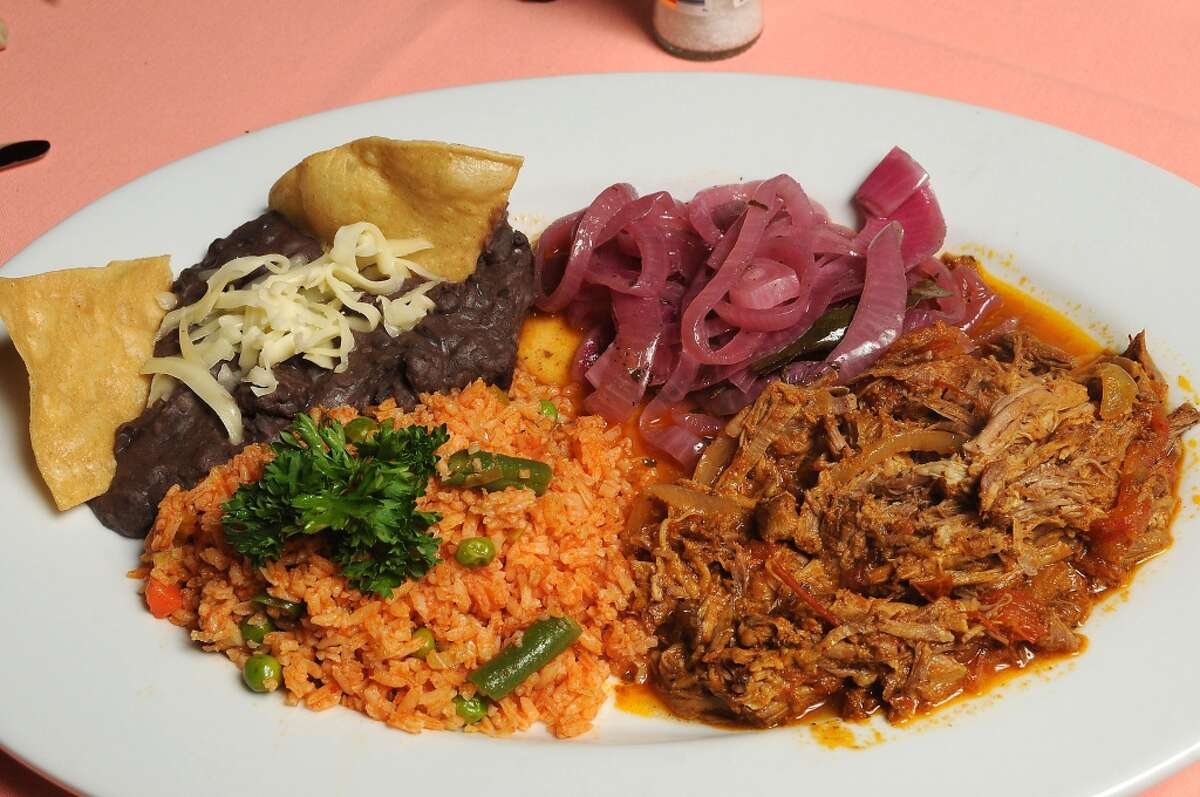 40. Pico's Cuisine: Mexican/Tex-Mex Entree price: $$ Where: 3601 Kirby Phone: 832-831-9940 Website: picos.net Read Alison Cook's review of Pico's Pictured above: The cochinita pibil: Achiote marinated pork baked in banana leaves