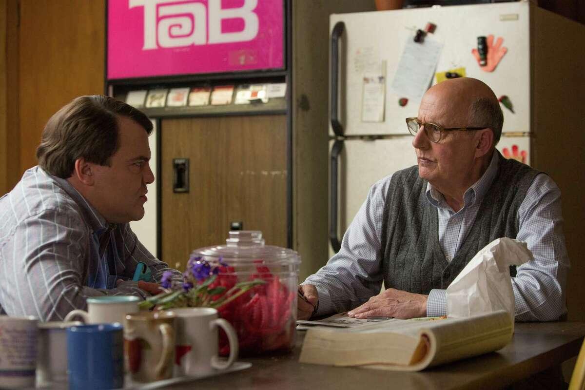 "Jack Black, left, and Jeffrey Tambor star in Jarrad Paul and Andrew Mogel's ""The D-Train."""