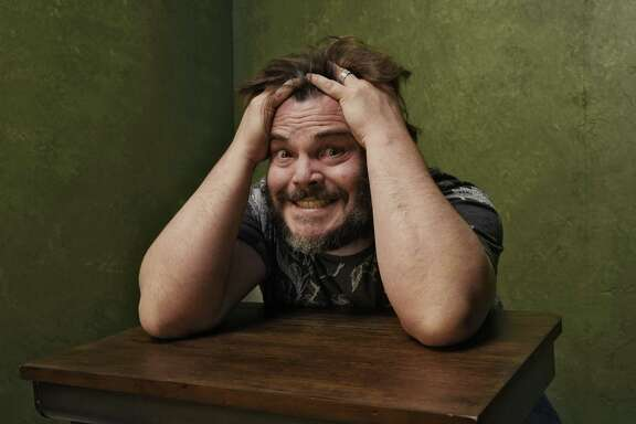 """Actor Jack Black, pictured during the 2015 Sundance Film Festival, is exploring more dark comedies, including """"The D Train,"""" which opens Friday."""