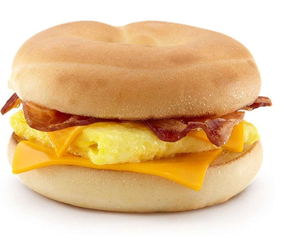 Top choice for breakfast cravings*1. McDonald's41 percent of consumers consider McDonald's breakfast for their next meal.Source: YouGov via Reuters(*Survey only asks people who said they will eat breakfast twice a day) Photo: Business Insider