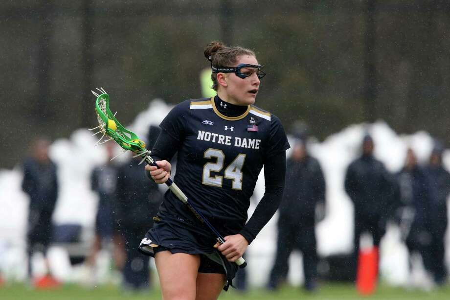 Notre Dame's Casey Pearsall, a Wilton alum, is the Irish's third-leading scorer heading into the NCAA tournament. Photo: Contributed Photo, University Of Notre Dame/Contrib / Stamford Advocate Contributed