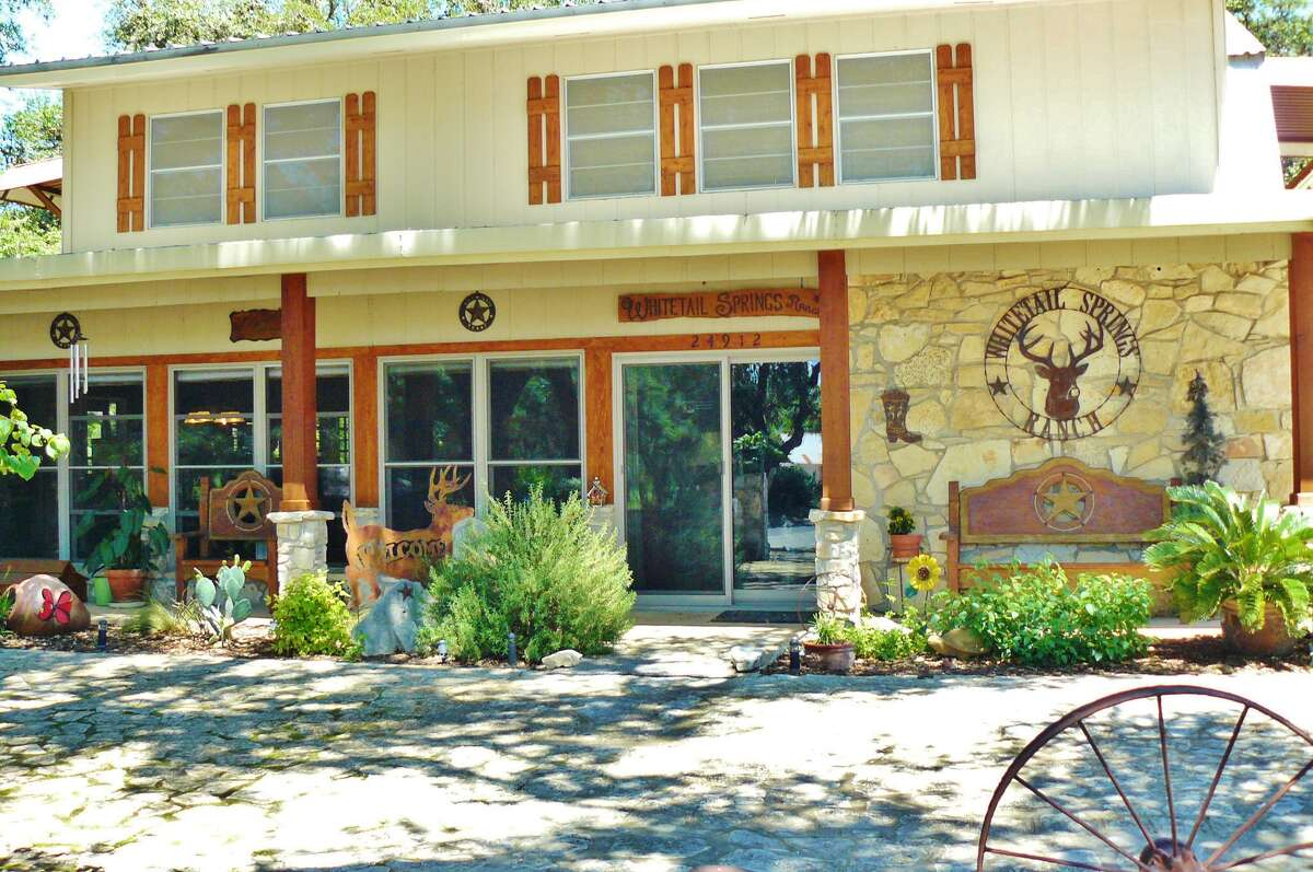 Whitetail Springs Ranch, a 305-acre Hill Country property on the Sabinal River,includes a 4,000-square-foot house with four or five bedrooms, remodeled kitchen and bathrooms and two wood-burning fireplaces.