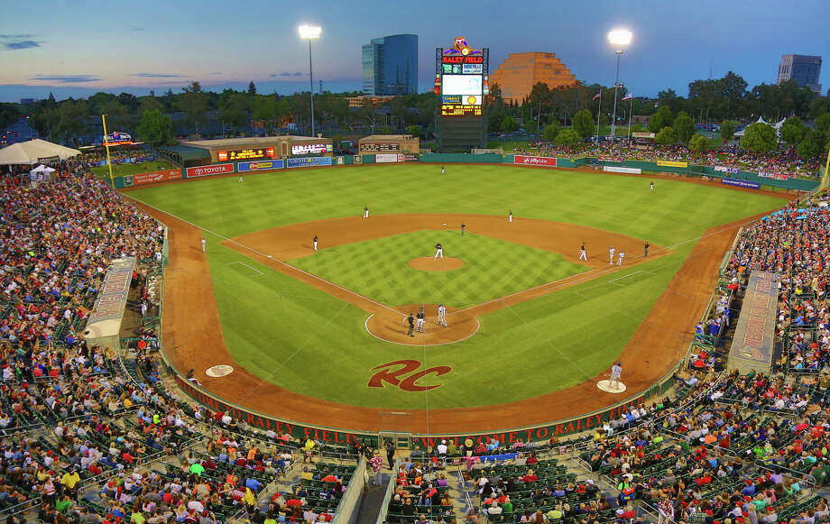 Raley Field is the home of the Sacramento River Cats, the San Francisco Giants AAA affiliate. Photo: Ralph Thompson / ONLINE_YES