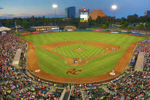 Raley Field is the home of the Sacramento River Cats, the San Francisco Giants AAA affiliate.