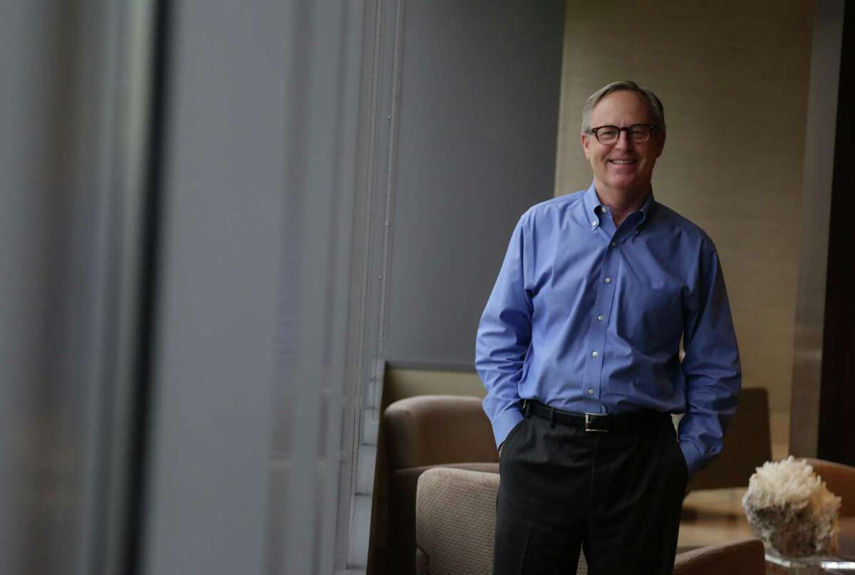EOG Resources CEO Bill Thomas at EOG's offices in downtown Houston Thursday Sept. 25, 2014. (Billy Smith II / Chronicle)