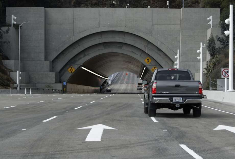 The Yerba Buena island tunnel.  Photo: Paul Chinn, The Chronicle