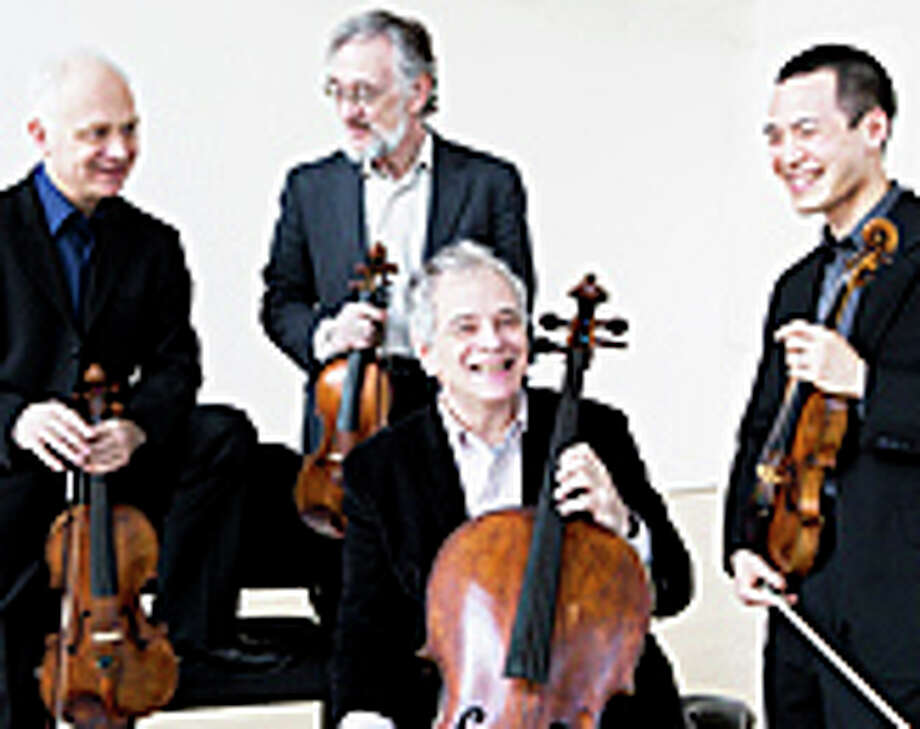 The Julliard String Quartet will perform May 17 at the Pequot Library in Southport, a concert sponsored by the Westport Arts Center. Photo: Contributed Photo / Westport News