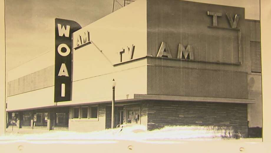 How WOAI-TV looked in its early day after S.A.'s first station signed on in late 1949. Photo: Courtesy WOAI-TV