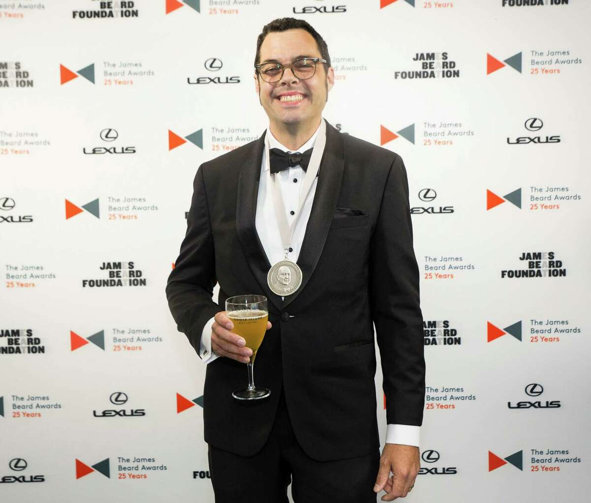 Aaron Franklin of Franklin Barbecue in Austin, Texas, was named Best Chef: Southwest at the James Beard Foundation awards ceremony on May 4, 2015. Â 2015 Galdones Photography/James Beard Foundation