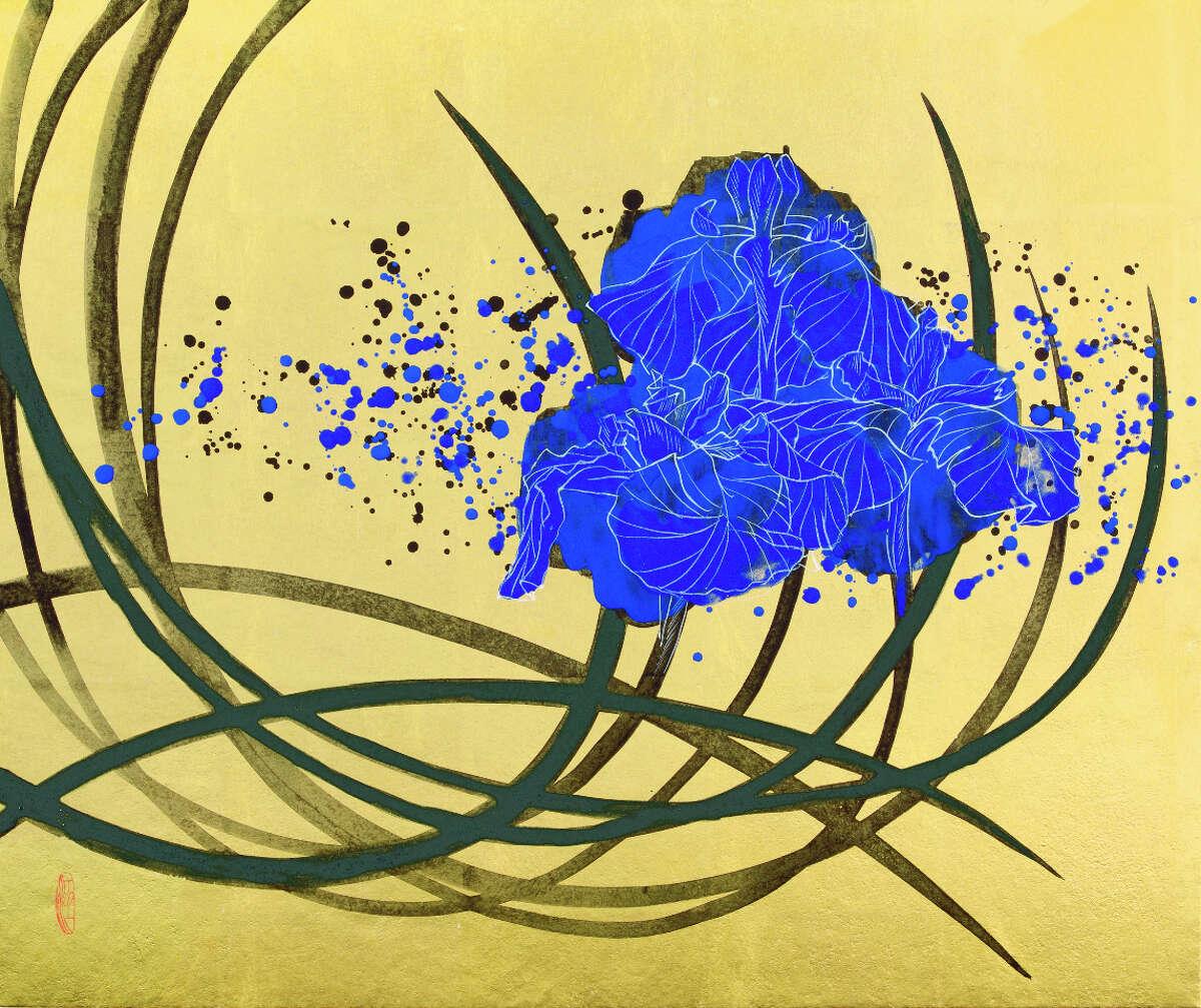 Pictured, Kotaro FukuiâÄôs âÄúSilent FlowerâÄù will be among the works on display at âÄúFukui Hsu Mann WangâÄù at the Flinn Gallery at the Greenwich Library in Greenwich, Conn., from May 7 to June 17, 2015.