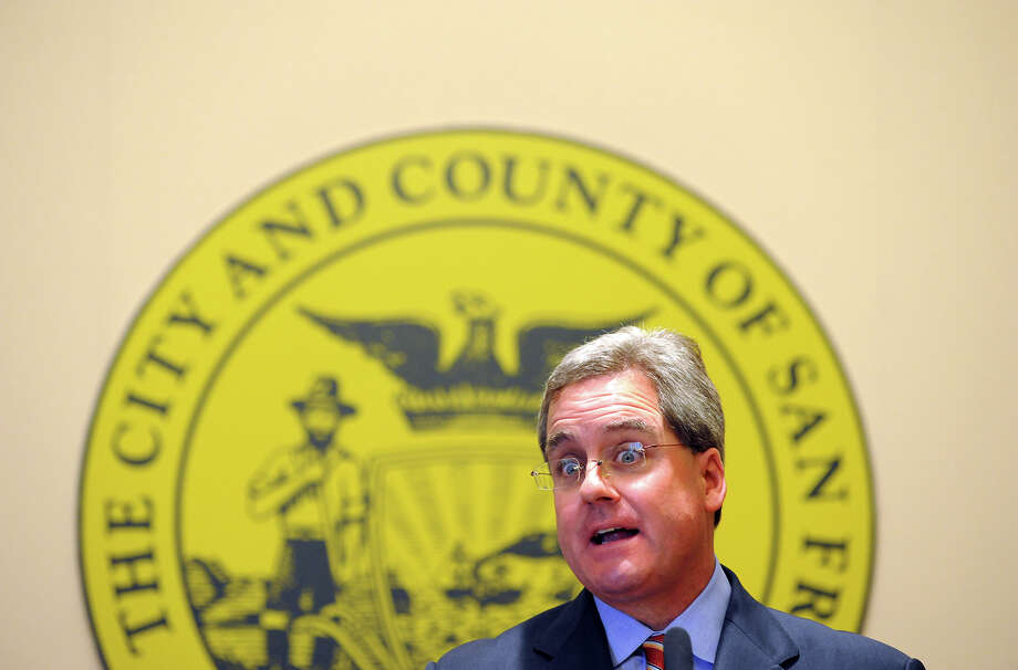City Attorney Dennis Herrera reached a $276,000 settlement with the landlords, who used the Ellis Act to jettison long-term tenants. Photo: Michael Short / Special To The Chronicle / ONLINE_YES