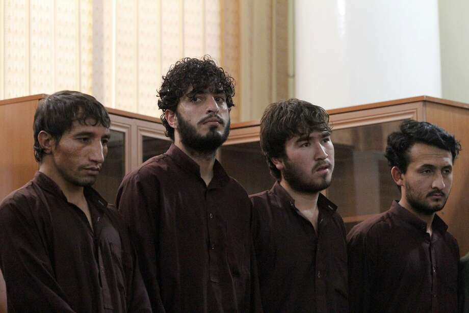 Afghan judge sentences 4 to death over mob killing