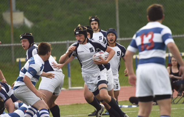 Staples rugby growing by leaps and bounds