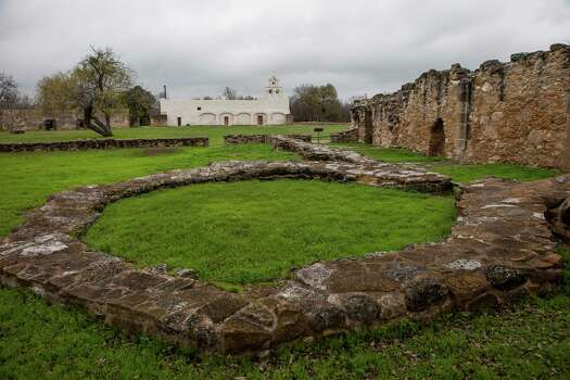 The site of an unfinished Spanish church at Mission San Juan, located in south San Antonio in Missions National Historic Park on Dec. 21st, 2014. Photo: Spencer Selvidge For The San Ant / Spencer Selvidge / Copyright 2014, Spencer Selvidge for the San Antonio Express-News