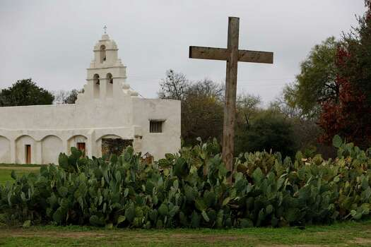 Mission San Juan, located in south San Antonio in Missions National Historic Park on Dec. 21st, 2014. Photo: Spencer Selvidge, Freelancer / For The Express-News / San Antonio Express-News