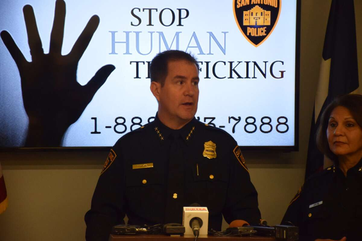 The San Antonio Police Department unveiled a new campaign Wednesday aimed at raising awareness for human trafficking.