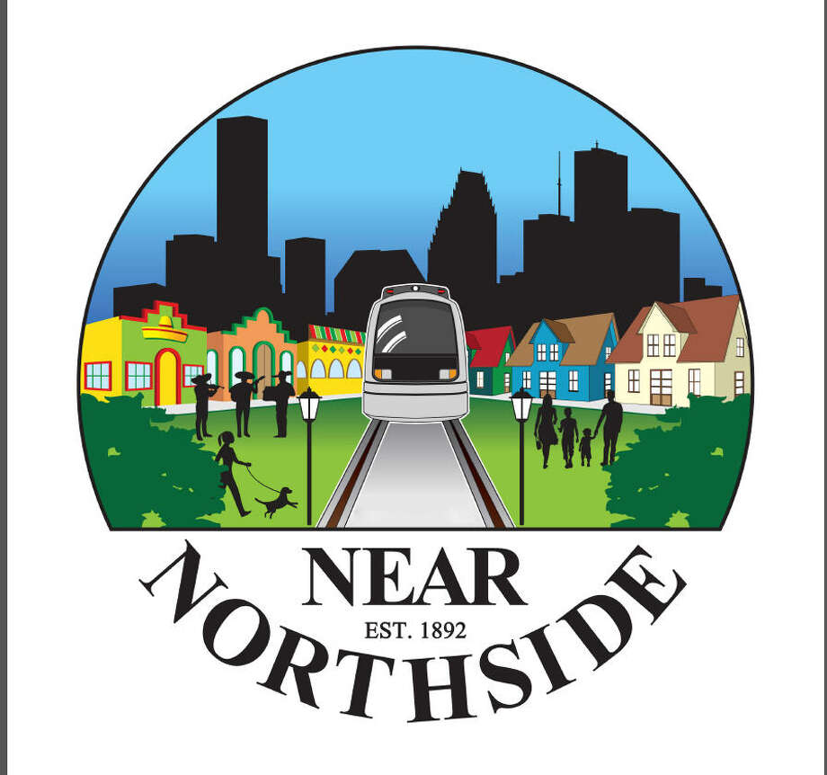 A logo by Near Northside resident Jesus Prieto was chosen by residents as the new branding image for the neighborhood. The branding campaign by Avenue CDC launched to help maintain the cultural identity of the Near Northside as it grows. Photo: Avenue CDC / ONLINE_YES