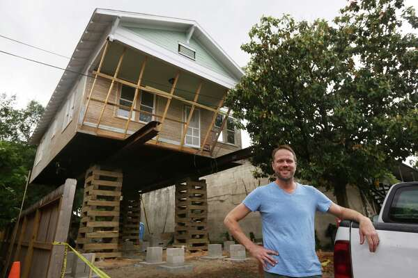 Heights Remodeler Jacks Up House To Add