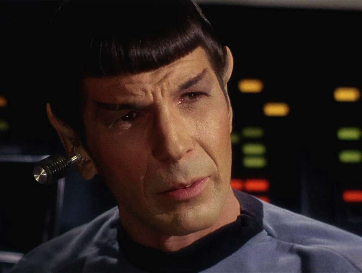 And here's Leonard Nimoy as Spock in an episode of the original