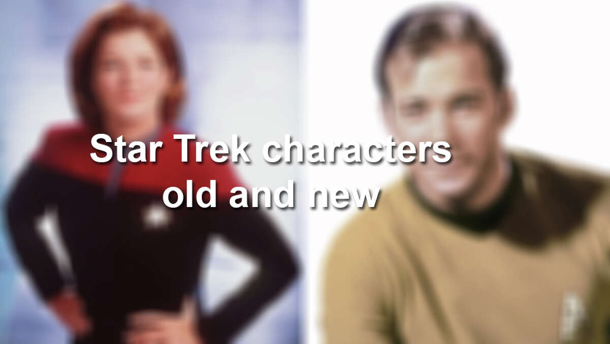 Star Trek Characters old and new