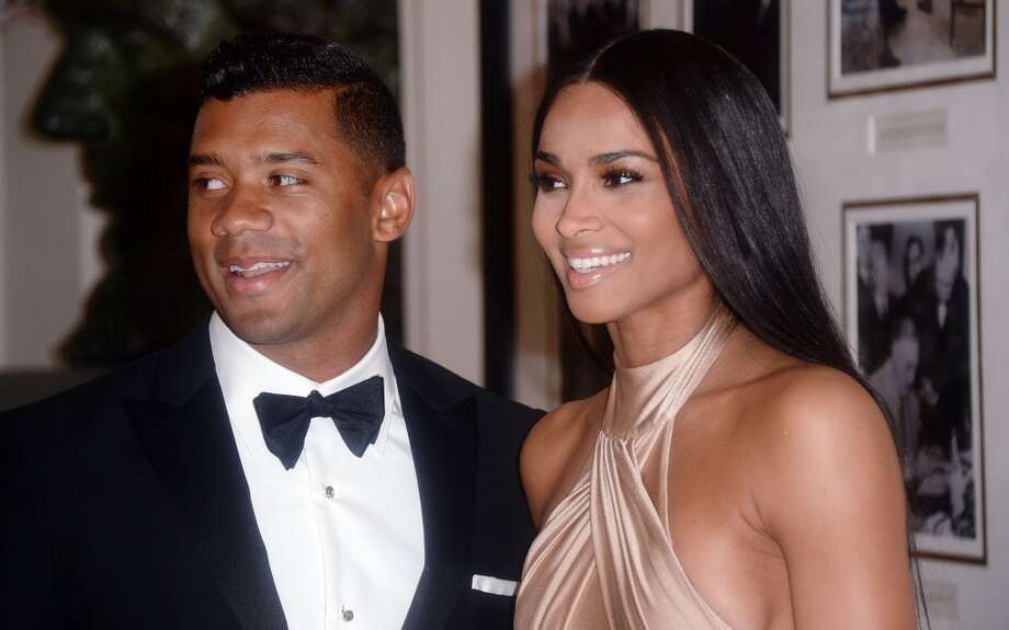 "Seahawks quarterback Russell Wilson says he and girlfriend Ciara are abstaining from sex. Wilson also claims God told him, ""I need you to lead her.""Click through the gallery for other instances of athletes talking about God. Photo: Olivier Douliery, Getty Images"