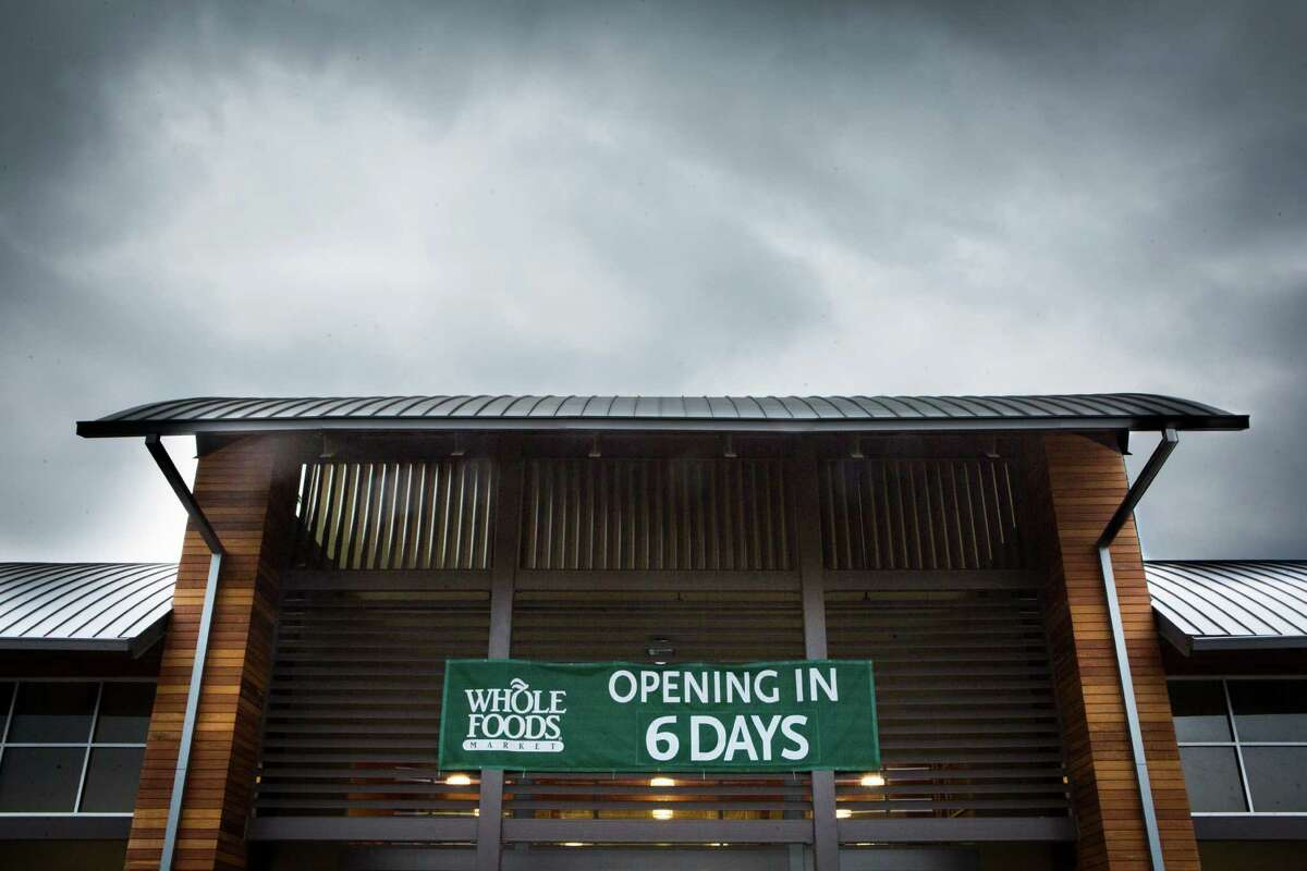 Whole Foods has relocated to a twice the size location on 1407 South Voss Road. The new store is 45,000 square feet. Thursday, April 2, 2015, in Houston. ( Marie D. De Jesus / Houston Chronicle )