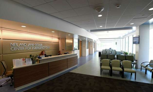 The reception area of the new Neil and Jane Golub Center for Emergency Care at Ellis Hospital Wednesday morning May 6, 2015 in Schenectady, N.Y.     (Skip Dickstein/Times Union) Photo: SKIP DICKSTEIN / 00031729A