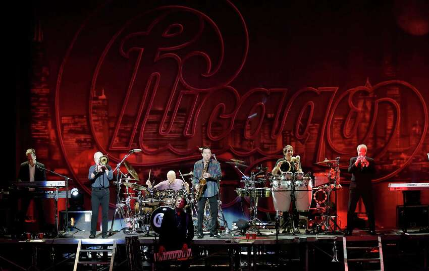 Legendary rock band Chicago performs at the Majestic Theater on Wednesday, May 6, 2015.