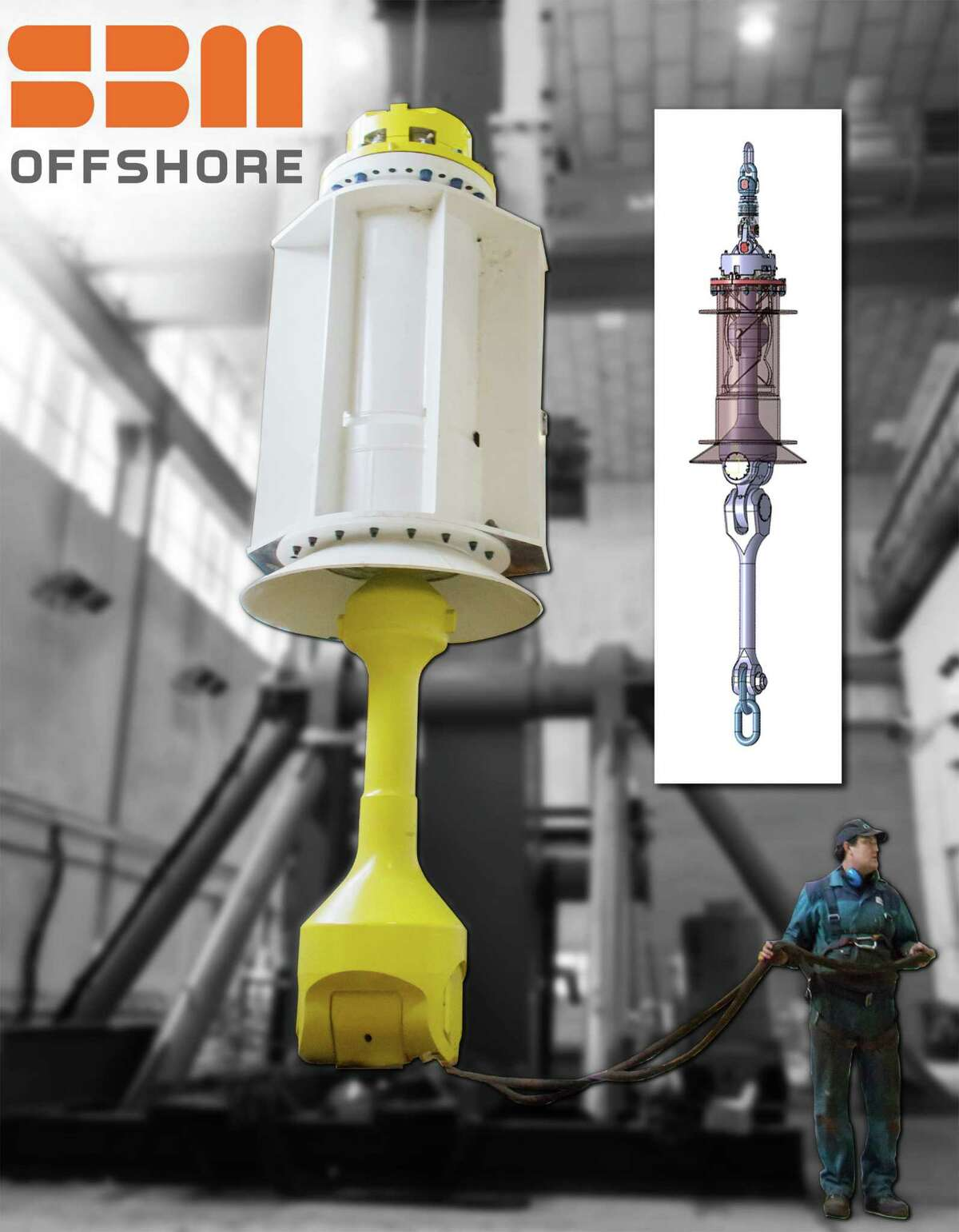 SBM Offshoreés ARCA Chain Connector revolutionizes the way FPSOs are held in place.
