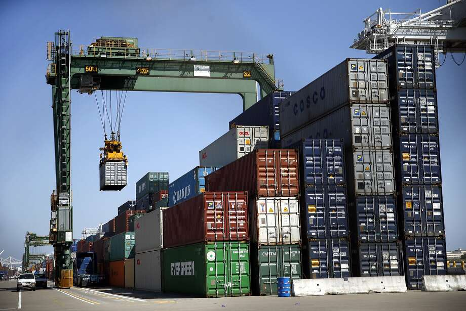 Port of Oakland in Oakland, Calif., on Wednesday, May 6, 2015. Photo: Scott Strazzante, The Chronicle