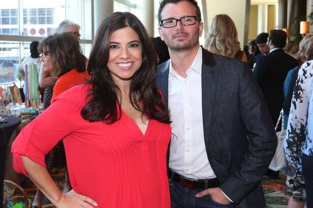 Patricia Lopez and David Mackey