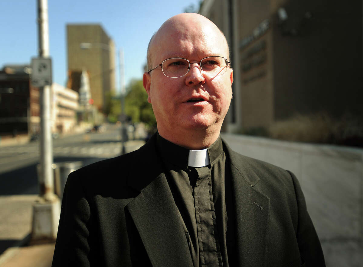 Colin J. McKenna, a 51-year-old Roman Catholic priest who served in several parishes in Fairfield County, has been identified as the man struck and killed by a Metro-North Railroad train in Westport, Conn. on Wednesday, Sept. 9, 2015.