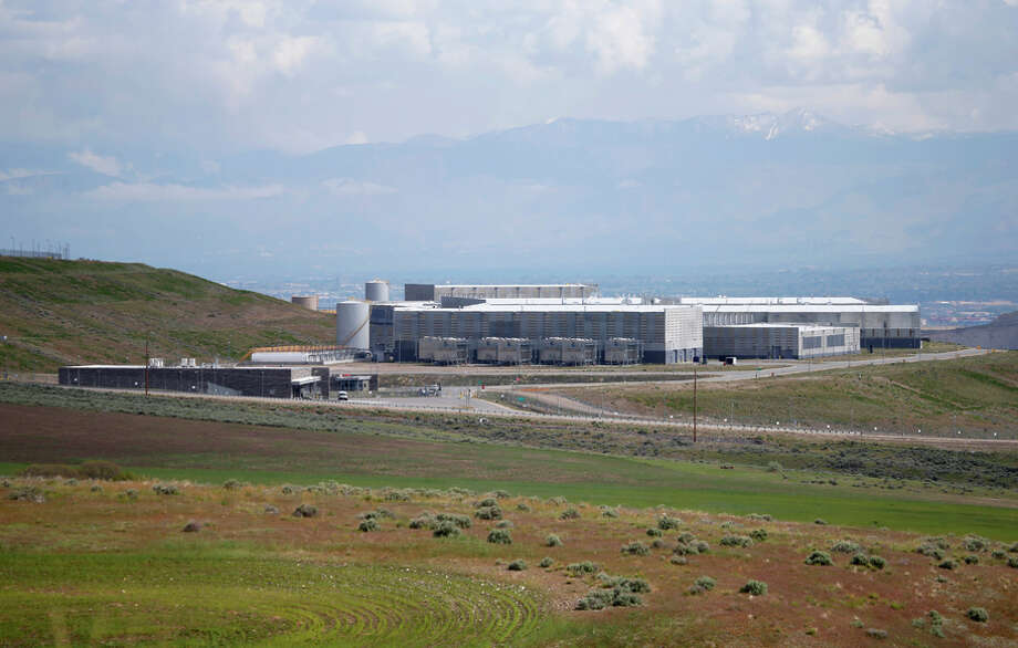 The National Security Agency has a new spy data collection center just south of Salt Lake City in Bluffdale, Utah. Photo: George Frey / Getty Images / 2015 Getty Images
