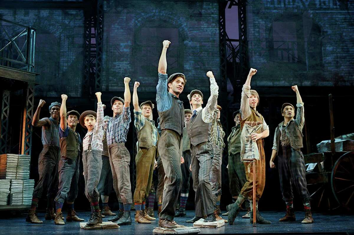 """""""Newsies"""" transforms a cult Disney film into a stage sensation. Tickets for the San Antono run are going fast."""