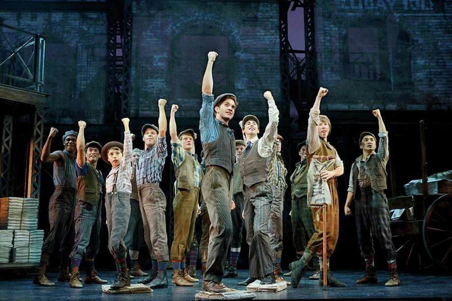 """Newsies"" transforms a cult Disney film into a stage sensation. Tickets for the San Antono run are going fast. Photo: Courtesy Deen Van Meer / ©2014 photographer Deen van Meer, all rights reserved, photographer should be credited at all times"