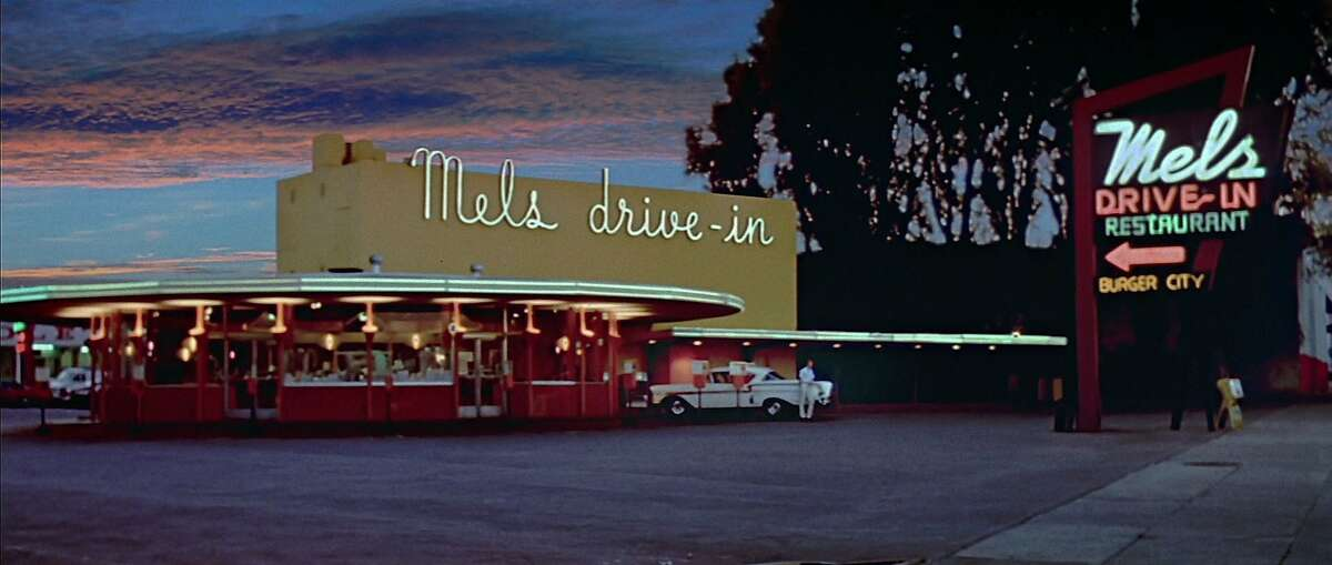 The original Mel's Drive-In in San Francisco was featured in