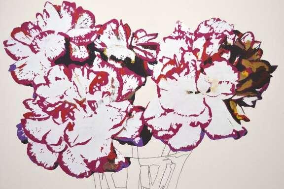 """Joe Mancuso's """"Still Life, Carnations"""" (2014)."""