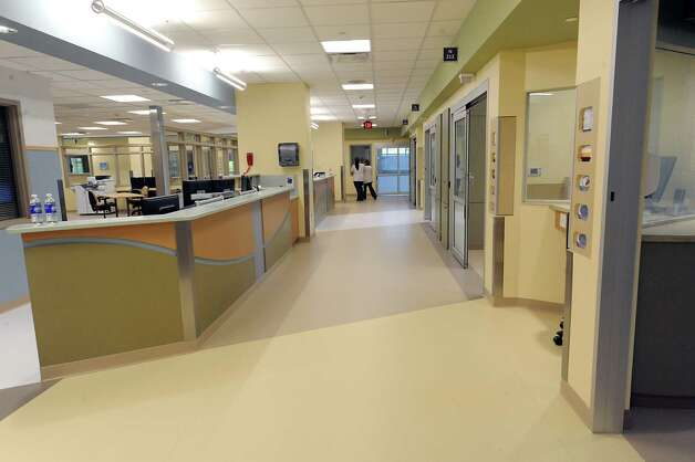 Hallway in the new Marylou Whitney and Desmond DelGiacco, MD Intensive Care Unit at Saratoga Hospital on Thursday, May 7, 2015 in Saratoga Springs, N.Y.  (Lori Van Buren / Times Union) Photo: Lori Van Buren / 00031673A