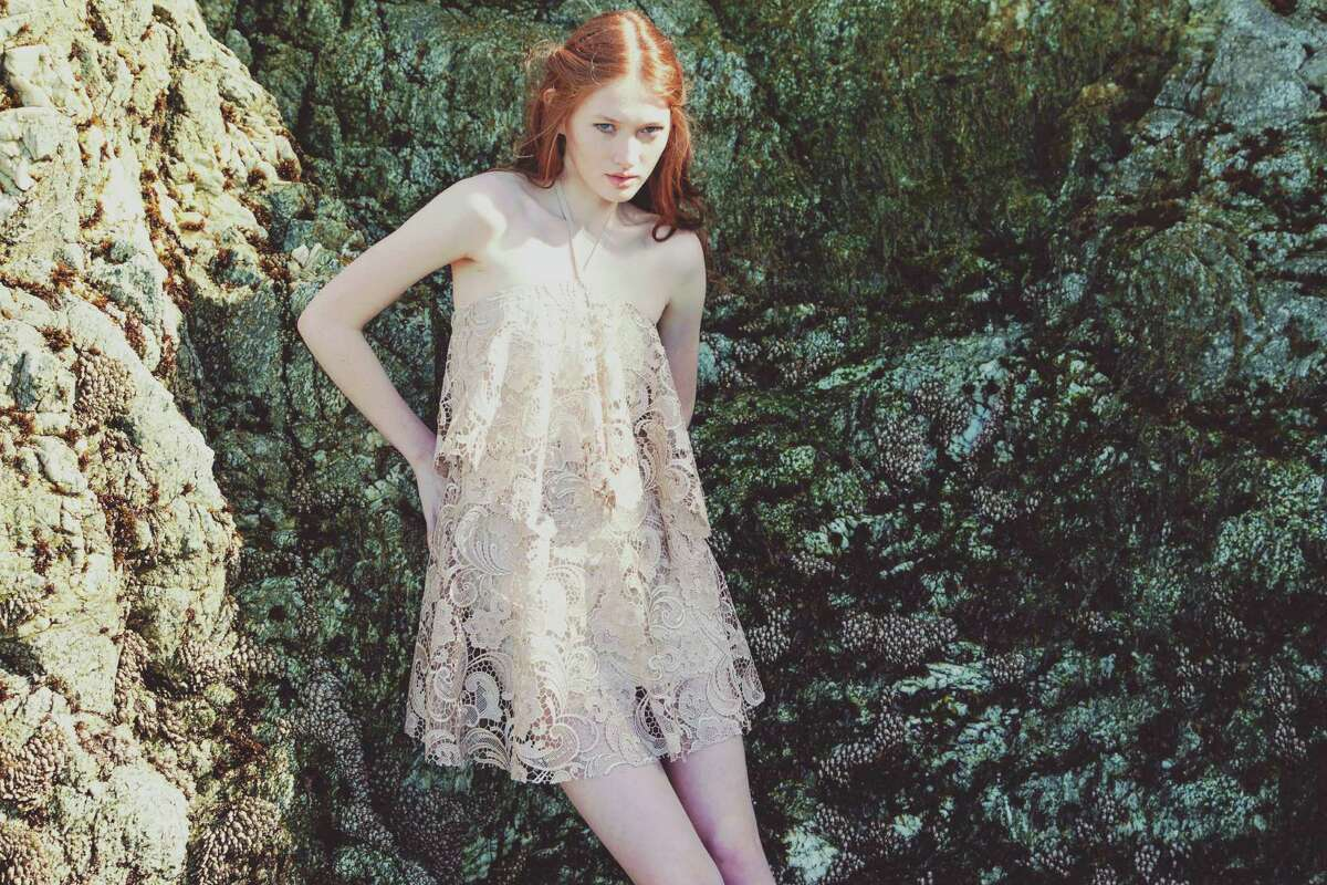 An image from the Alyssa Nicole Spring 2015 lookbook.