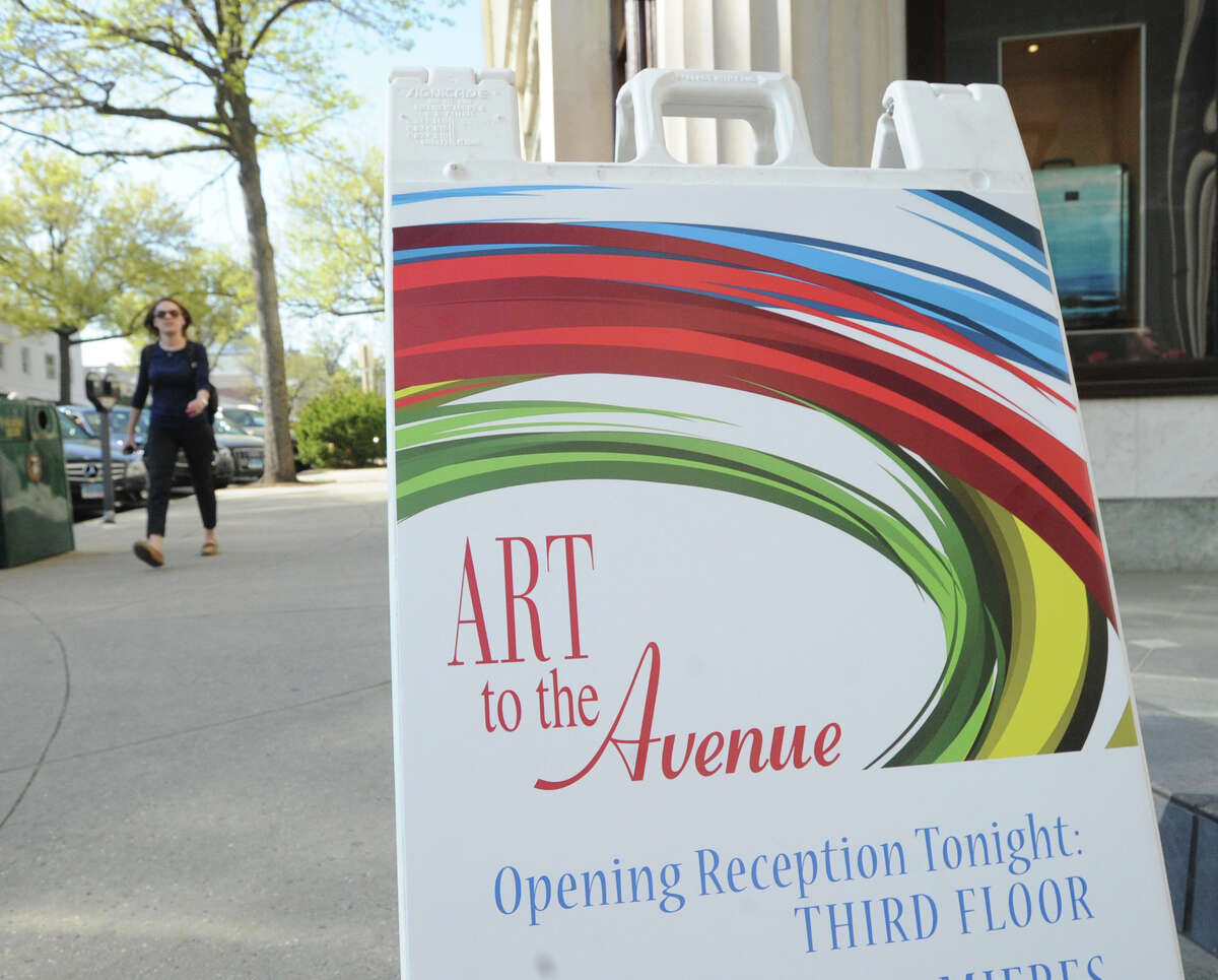 """Art to the Avenue, Greenwich May 5-30, 2016Most stores host receptions for the hundreds of visitors who attend to preview the work of over 120 artists. The art selected by the retailers remains in place through Memorial Day, so there is ample time for viewers to experience the """"gallery"""" that downtown Greenwich becomes. Find out more."""