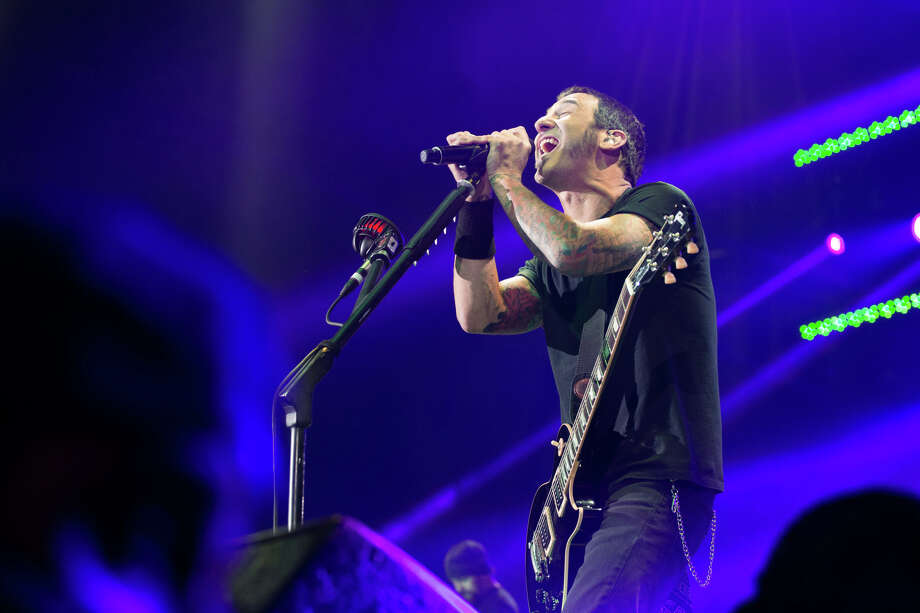 Sully Erna of Godsmack performs at Glens Falls Civic Center on Wednesday, May 6, 2015, in Glens Falls, N.Y. Photo: Trudi Hargis, Trudi Shaffer / Times Union