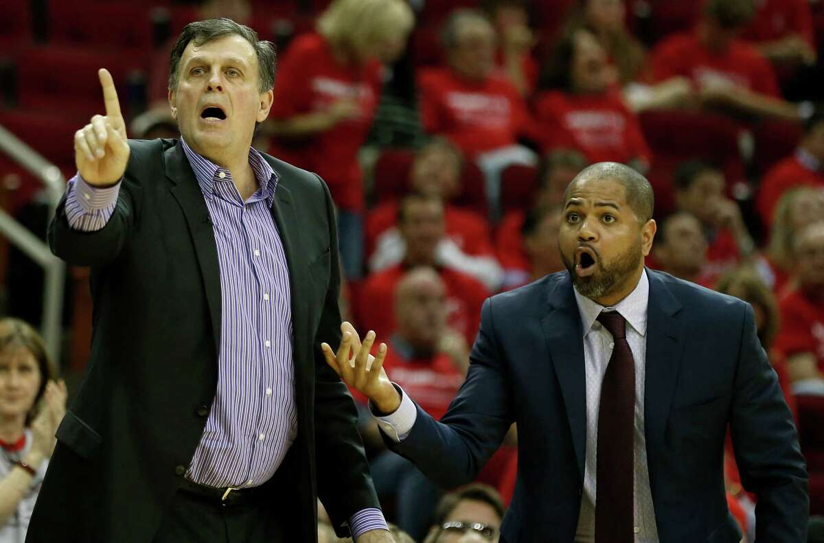 J.B. Bickerstaff The 36-year-old Bickerstaff was named the Rockets' interim head coach Wednesday, so he'll at least get an audition for the job. He's been a Rockets' assistant since 2011 and is known as a defensive-minded coach.