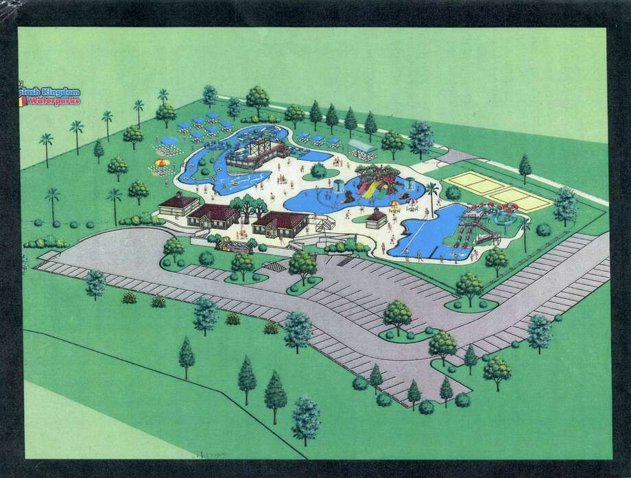 Drawing of planned waterpark. Photo: Handout